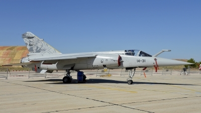 Photo ID 124049 by Armando Tuñon. Spain Air Force Dassault Mirage F1M, C 14 56