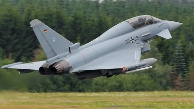 Photo ID 123964 by Alex van Noye. Germany Air Force Eurofighter EF 2000 Typhoon T, 30 05