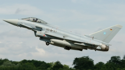 Photo ID 124015 by Caspar Smit. Germany Air Force Eurofighter EF 2000 Typhoon S, 30 57