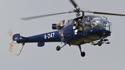 Photo ID 124156 by Niels Roman / VORTEX-images. Netherlands Air Force Aerospatiale SA 316B Alouette III, A 247