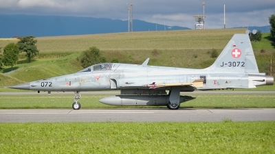 Photo ID 124708 by Sven Zimmermann. Switzerland Air Force Northrop F 5E Tiger II, J 3072