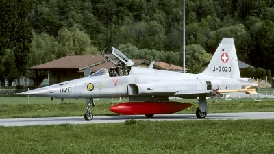Photo ID 124221 by Joop de Groot. Switzerland Air Force Northrop F 5E Tiger II, J 3020