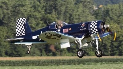 Photo ID 124218 by Joe Osciak. Private F4U Inc Goodyear FG 1D Corsair, NX83JC