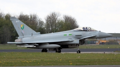 Photo ID 124319 by John. UK Air Force Eurofighter EF 2000 Typhoon FGR4, ZJ916
