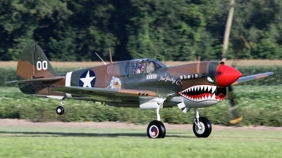 Photo ID 124264 by Joe Osciak. Private American Airpower Heritage Flying Museum Curtiss P 40M Warhawk, NX1232N