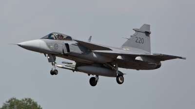 Photo ID 124245 by Doug MacDonald. Sweden Air Force Saab JAS 39C Gripen, 39220
