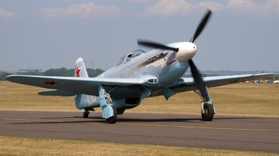 Photo ID 124274 by Claire Williamson. Private Private Yakovlev Yak 3UA, G CGXG