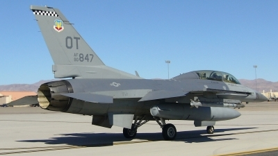 Photo ID 124263 by Peter Boschert. USA Air Force General Dynamics F 16D Fighting Falcon, 90 0847