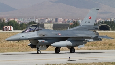 Photo ID 124411 by Sander Meijering. Turkey Air Force General Dynamics F 16C Fighting Falcon, 07 1014