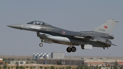 Photo ID 124368 by Sander Meijering. Turkey Air Force General Dynamics F 16C Fighting Falcon, 07 1003
