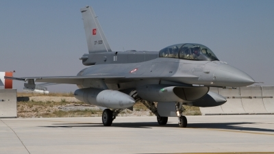 Photo ID 124473 by Sander Meijering. Turkey Air Force General Dynamics F 16D Fighting Falcon, 07 1029