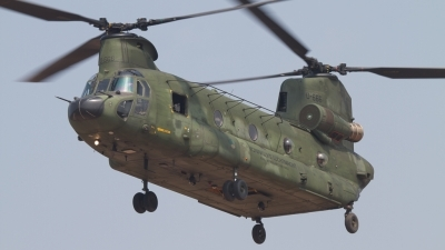 Photo ID 124860 by Sander Meijering. Netherlands Air Force Boeing Vertol CH 47D Chinook, D 666