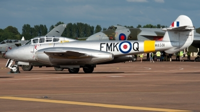 Photo ID 124481 by Jan Eenling. Private Aviation Heritage Ltd Gloster Meteor T 7, G BWMF