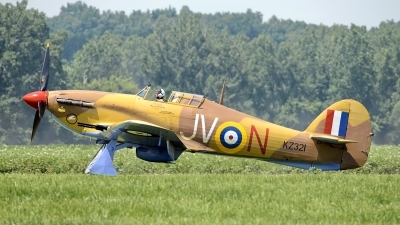 Photo ID 124973 by W.A.Kazior. Private Vintage Wings of Canada Hawker Hurricane IV, CF TPM