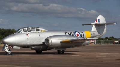 Photo ID 124580 by Thomas Ziegler - Aviation-Media. Private Aviation Heritage Ltd Gloster Meteor T 7, G BWMF