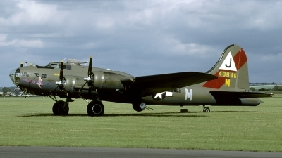 Photo ID 124635 by Joop de Groot. Private Private Boeing B 17G Flying Fortress 299P, F AZDX