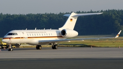 Photo ID 124789 by Günther Feniuk. Germany Air Force Bombardier BD 700 1A11 Global 5000, 14 04