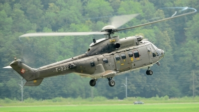 Photo ID 124984 by Sven Zimmermann. Switzerland Air Force Aerospatiale AS 532UL Cougar, T 332