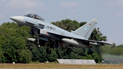 Photo ID 124711 by Carl Brent. Germany Air Force Eurofighter EF 2000 Typhoon S, 30 57