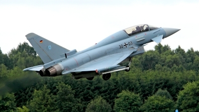 Photo ID 125067 by Carl Brent. Germany Air Force Eurofighter EF 2000 Typhoon T, 30 03