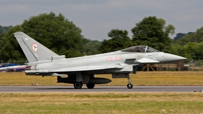 Photo ID 124946 by Jan Eenling. UK Air Force Eurofighter EF 2000 Typhoon FGR4, ZK307