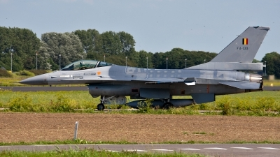 Photo ID 125146 by Jan Eenling. Belgium Air Force General Dynamics F 16AM Fighting Falcon, FA 130