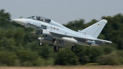 Photo ID 125547 by Jörg Pfeifer. Germany Air Force Eurofighter EF 2000 Typhoon T, 30 99