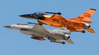 Photo ID 125487 by Alex van Noye. Netherlands Air Force General Dynamics F 16AM Fighting Falcon, J 015