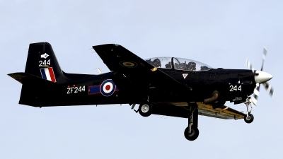 Photo ID 125660 by Carl Brent. UK Air Force Short Tucano T1, ZF244