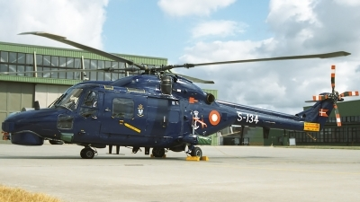 Photo ID 125618 by Sven Zimmermann. Denmark Navy Westland WG 13 Super Lynx Mk90, S 134