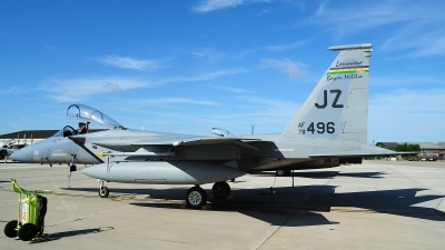 Photo ID 125604 by Peter Boschert. USA Air Force McDonnell Douglas F 15C Eagle, 78 0496