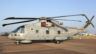 Photo ID 125685 by Thomas Ziegler - Aviation-Media. UK Navy Agusta Westland EH 101 Merlin HM1 Mk111, ZH861