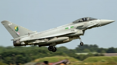 Photo ID 125683 by Chris Albutt. UK Air Force Eurofighter EF 2000 Typhoon FGR4, ZK309