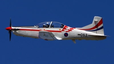 Photo ID 126307 by Lukas Kinneswenger. Croatia Air Force Pilatus PC 9M, 063