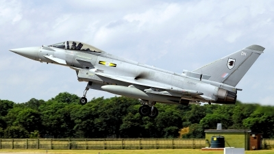 Photo ID 126313 by Carl Brent. UK Air Force Eurofighter EF 2000 Typhoon FGR4, ZJ942