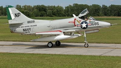 Photo ID 125784 by David F. Brown. Private Warbirds Heritage Foundation Douglas A 4C Skyhawk, N49WH