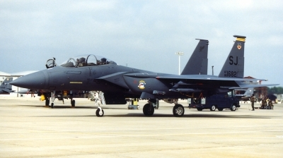 Photo ID 125977 by Gregg Stansbery. USA Air Force McDonnell Douglas F 15E Strike Eagle, 88 1682