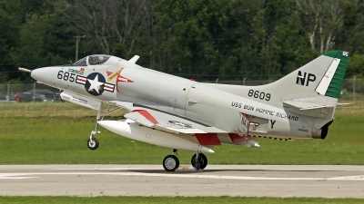 Photo ID 125985 by David F. Brown. Private Warbirds Heritage Foundation Douglas A 4C Skyhawk, N49WH