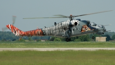 Photo ID 16402 by Radim Spalek. Czech Republic Air Force Mil Mi 24V, 0705