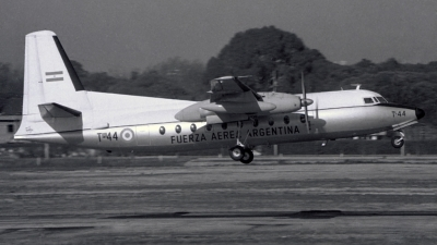 Photo ID 127682 by Carlos Ay. Argentina Air Force Fokker F 27 600 Friendship, T 44