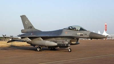 Photo ID 126083 by Thomas Ziegler - Aviation-Media. Netherlands Air Force General Dynamics F 16AM Fighting Falcon, J 061