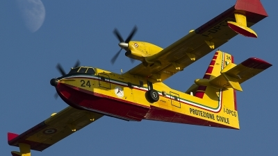Photo ID 126114 by Thomas Ziegler - Aviation-Media. Italy Dipartimento Protezione Civile Canadair CL 415 6B11, I DPCG