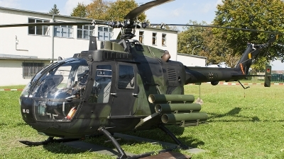 Photo ID 126560 by Thomas Ziegler - Aviation-Media. Germany Army MBB Bo 105P PAH 1, 86 63