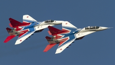 Photo ID 126203 by Thomas Ziegler - Aviation-Media. Russia Air Force Mikoyan Gurevich MiG 29UB 9 51,