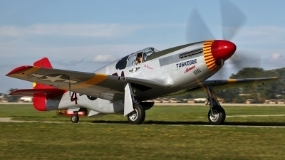 Photo ID 126491 by David F. Brown. Private American Airpower Heritage Flying Museum North American P 51C Mustang, NX61429