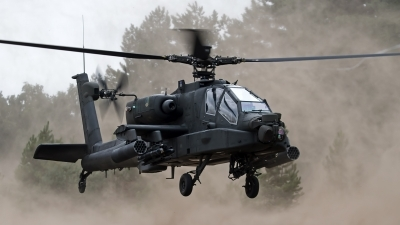 Photo ID 126546 by Niels Roman / VORTEX-images. Netherlands Air Force Boeing AH 64DN Apache Longbow, Q 24