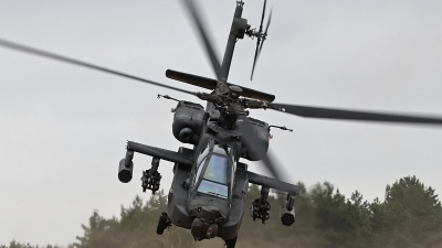 Photo ID 126545 by Niels Roman / VORTEX-images. Netherlands Air Force Boeing AH 64DN Apache Longbow, Q 24