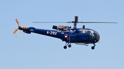 Photo ID 126607 by Alfred Koning. Netherlands Air Force Aerospatiale SA 316B Alouette III, A 292
