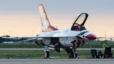 Photo ID 126570 by Brandon Thetford. USA Air Force General Dynamics F 16C Fighting Falcon, 91 0392