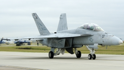 Photo ID 126401 by Brandon Thetford. USA Navy Boeing F A 18F Super Hornet, 165923